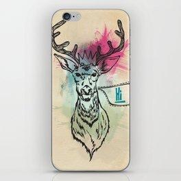 Party Hat Deer iPhone Skin