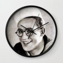 Harold Lloyd, Legend of the Silver Screen Wall Clock