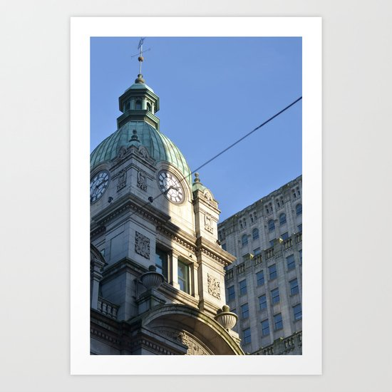 heritage vancouver pt 2 Art Print