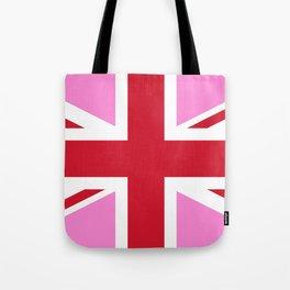 Gay Pink UK Pride Flag Tote Bag