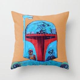 Warrior 3JO Throw Pillow