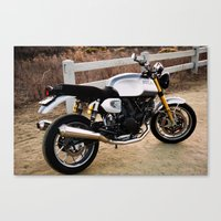 ducati Canvas Prints featuring Ducati 006 by Austin Winchell