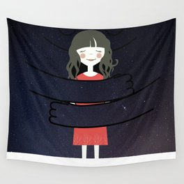 The Universe loves You Wall Tapestry