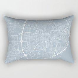 Mobile Map, USA - Slate Rectangular Pillow