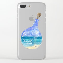 Making Waves Clear iPhone Case