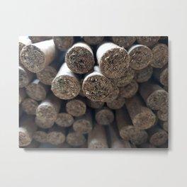 cigar lover Metal Print