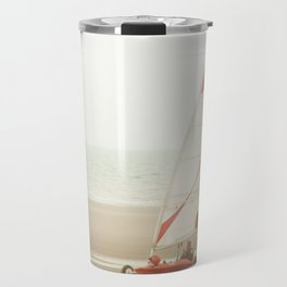 Char à voile yachting Travel Mug