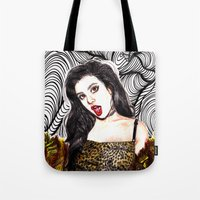 charli xcx Tote Bags featuring CHARLI XCX II: SUCKER by Share_Shop