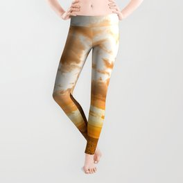 Southwest Wanderlust - Monument Valley Sunrise Nature Photography Leggings