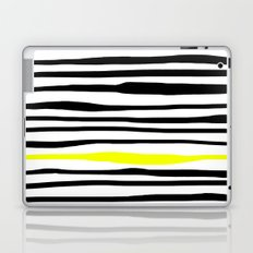 Neon zebra stripes Laptop & iPad Skin