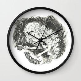 Drink me Alice Wall Clock