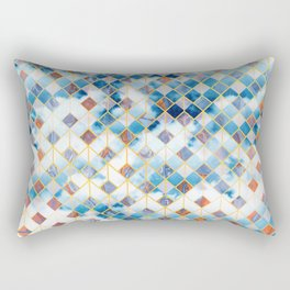 Geometric XXXXXIV Rectangular Pillow
