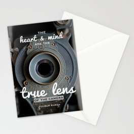 Inspirational Photography Quote (Karsh) Stationery Cards