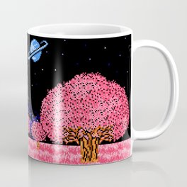 Celestial Fields of Fleeting Dreams Coffee Mug