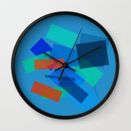 Retracting in Motion Wall Clock