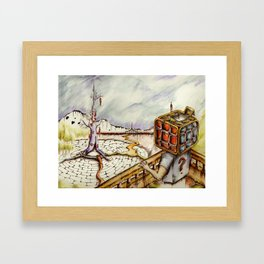 """Cubical"" Framed Art Print"