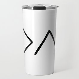 God Is Greater Than Your Ups And Downs Travel Mug