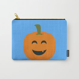 Funny Halloween pumpkin Carry-All Pouch