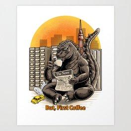 Coffeezilla Art Print