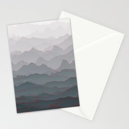 Mountains of Madness I Stationery Cards