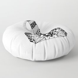 Mjolnir Mandala Floor Pillow