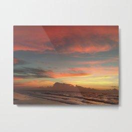Sunrise on Ocracoke Island - 5 Metal Print
