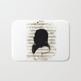 Mozart - Dies Irae Bath Mat