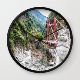 Frog Rock Wall Clock