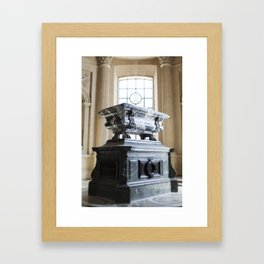 Tomb of Joseph Bonaparte, Paris Framed Art Print