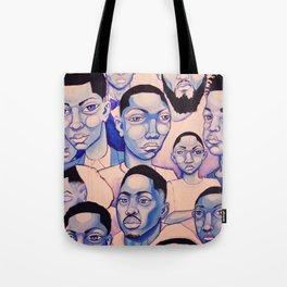 Black Boy Blues Tote Bag