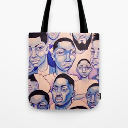 Black Boy Blues Tote Bag