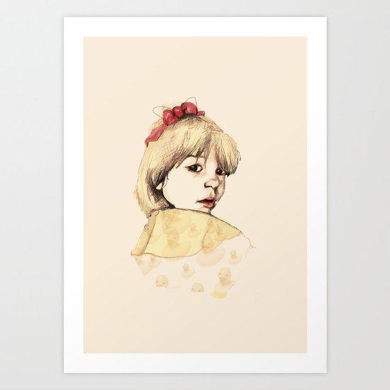 Ana Art Print