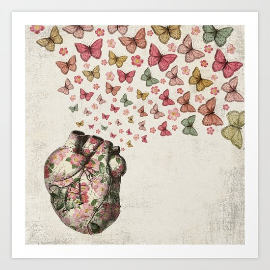 In Love Art Print