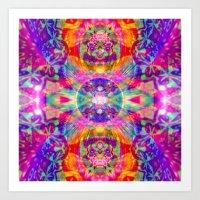 The Echo of a Rainbow Warrior Art Print