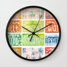 You Are. Wall Clock