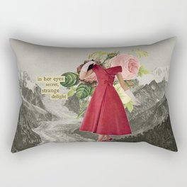 In Her Eyes Secret Strange Delight Rectangular Pillow