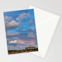 Eastern Sky at Sunset on the Gulf Coast Stationery Cards