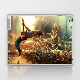 Do more than just exist Laptop & iPad Skin
