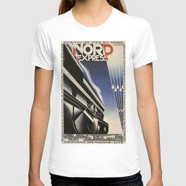 Vintage poster - Nord Express T-shirt