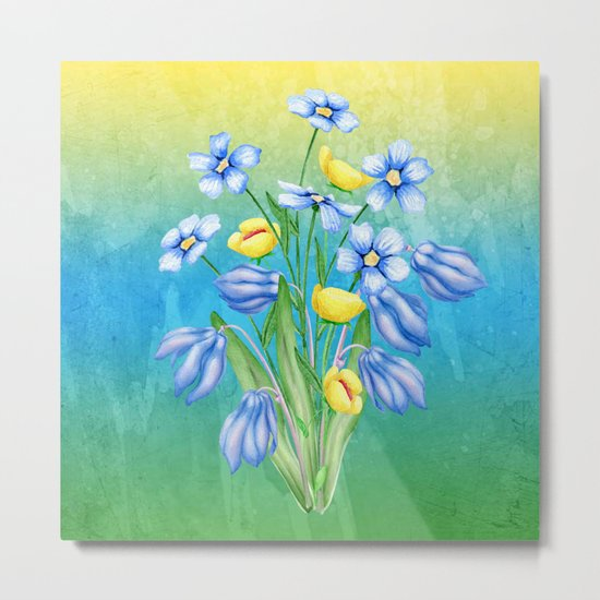 Flowers Bouquet #23 Metal Print