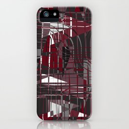Land of Red iPhone Case