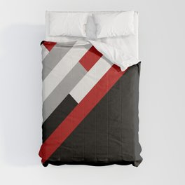Diagonal stripes pattern Comforters