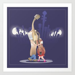 Slow Dance Art Print