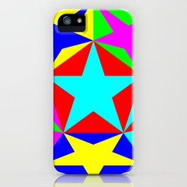 Half Dodecahedron Stars iPhone Case