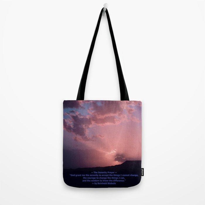 Serenity Prayer - IV Tote Bag