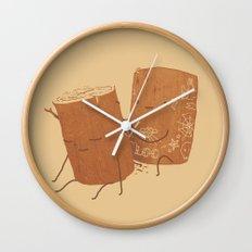 Loggy Modification Wall Clock
