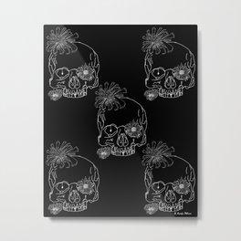 Mum Skulls Metal Print