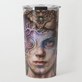 Senua portrait Travel Mug