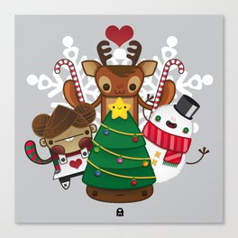 Merry Christmas Chestnut Girl!!! Canvas Print