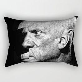 Pablo Picasso Cubism Collage Rectangular Pillow
